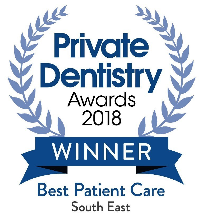 Start Smiling: Best Dentist in Essex PDA18-Winner-BPC-SE