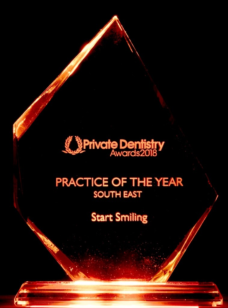 Start Smiling: Best Dentist in Essex Practice-of-the-year-south-east